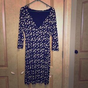 Ann Taylor Faux Wrap Dress
